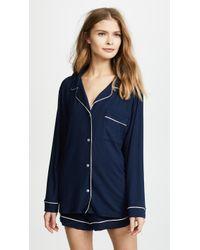 Eberjey - Gisele Long Sleeve Pyjama Set - Lyst