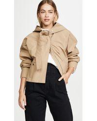 3.1 Phillip Lim Hooded Jacket - Natural