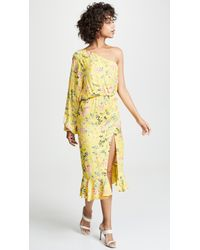 456498f85e Lyst - Ted Baker Edela Eden Print Cover-up Maxi Dress in Pink