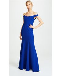 Marchesa notte - Off Shoulder Gown - Lyst
