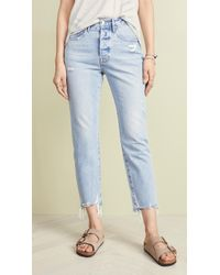 8bab2572bc0b Lyst - FRAME Le Original Jeans in Blue