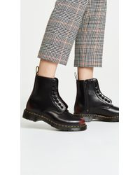 Dr. Martens - 1460 Pascal Front Zip 8 Eye Boots - Lyst