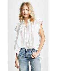 Nili Lotan - Normandy Blouse - Lyst