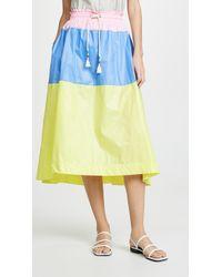 Mira Mikati - Colorblock Skirt - Lyst