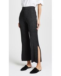 The Lady & The Sailor - The Weekend Knit Trousers - Lyst