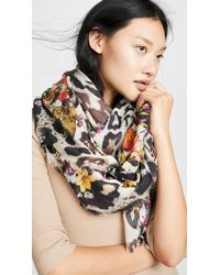 Franco Ferrari - Tarth Animal Scarf - Lyst