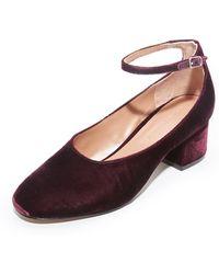 Sigerson Morrison | Kairos Ii Velvet Court Shoes | Lyst