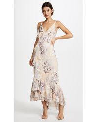 We Are Kindred | Paloma Ruffle Slip Dress | Lyst