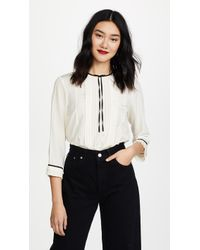 Marc Jacobs - Pintuck Blouse - Lyst