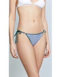 Diane von Furstenberg - Ring Cheeky Bikini Bottoms - Lyst