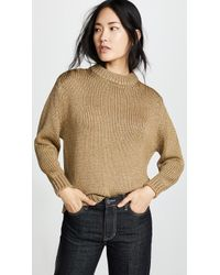 Ryan Roche - Sparkle Thread Sweater - Lyst