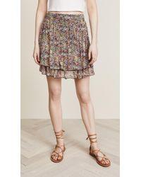 Scotch & Soda - Double Layer Miniskirt - Lyst