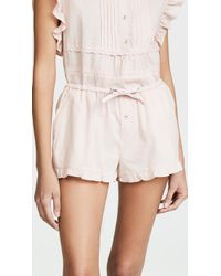Love Stories - Liuz Pj Shorts - Lyst