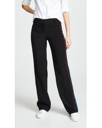 Carven - Trousers With Side Stitching - Lyst