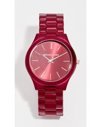 Michael Kors - Slim Runway Watch - Lyst