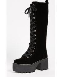 Alice + Olivia | Raye Platform Boots | Lyst
