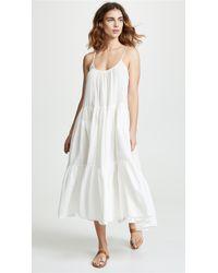 9seed - Condesa Ruffle Tier Midi Dress - Lyst