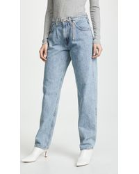 Agolde - Baggy Oversized Jeans With Pleats - Lyst