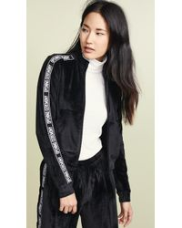 Opening Ceremony - Intarsia-trimmed Velour Track Jacket - Lyst