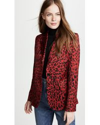 Robert Rodriguez - Abstract Print Blazer - Lyst