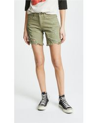 Siwy - Whitney Bf Shorts With Zip - Lyst