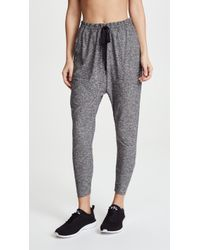 Beyond Yoga - Weekend Traveller Midi Joggers - Lyst