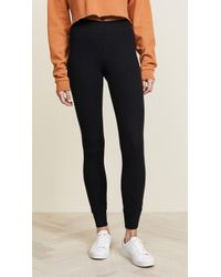 ATM - Long Micromodal Yoga Trousers - Lyst