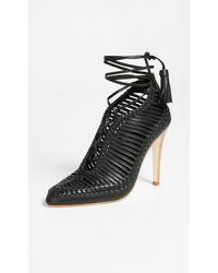 Ulla Johnson - Yasmina Lace Up Court Shoes - Lyst