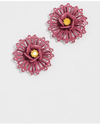 Elizabeth Cole - Sanders Earrings - Lyst