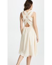 EVIDNT - Crisscross Back Dress - Lyst