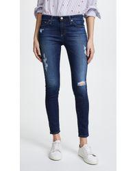 AG Jeans - Legging Ankle Jeans - Lyst