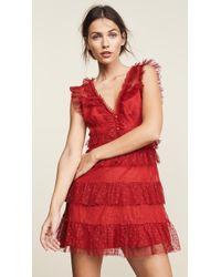 La Maison Talulah - Tango Dreams Mini Dress - Lyst