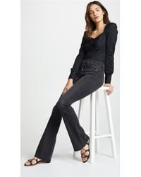 Veronica Beard - Beverly Skinny Flare Jeans With Button Fly - Lyst