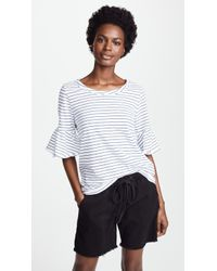 Splendid - Pencil Stripe Tee - Lyst