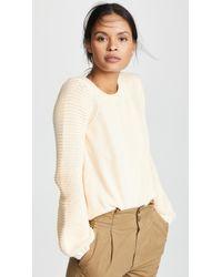 BB Dakota - Fly Me To The Moon Balloon Sleeve Sweater (cream) Women's Sweater - Lyst