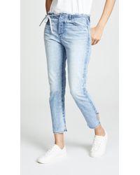 Tortoise - Tufa Slim Straight Crop Jeans - Lyst