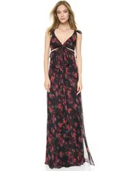 Thakoon - Knotted Gown With Cutouts - Lyst