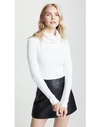 Courreges - Oversized Cowl Neck Sweater - Lyst