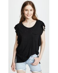 Free People - So Easy Tee - Lyst