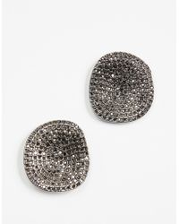 BaubleBar - Encrusted Acrylics Stud Earrings - Lyst