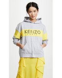 KENZO - Sport Oversized Hoodie - Lyst