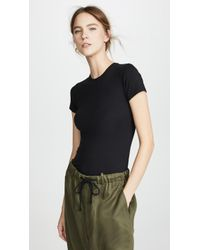 ATM - Pima Cotton Baby Tee - Lyst
