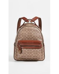 COACH - Signature Refresh Campus Backpack - Lyst