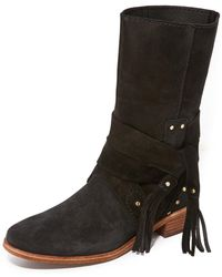 See By Chloé - Dasha Flat Boots - Lyst
