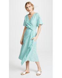 Velvet - Jayel Striped Dress - Lyst