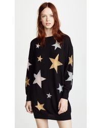 Boutique Moschino - Star Mini Dress - Lyst