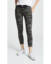 Etienne Marcel - Skinny Utility Trousers With Contrast Waistband - Lyst