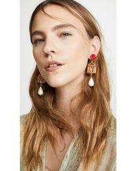 Oscar de la Renta - Birdcage Earrings - Lyst