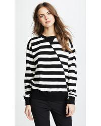 Jason Wu - Striped Oversized Sweater - Lyst