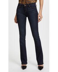 PAIGE - Transcend Manhattan Boot Cut Jeans - Lyst